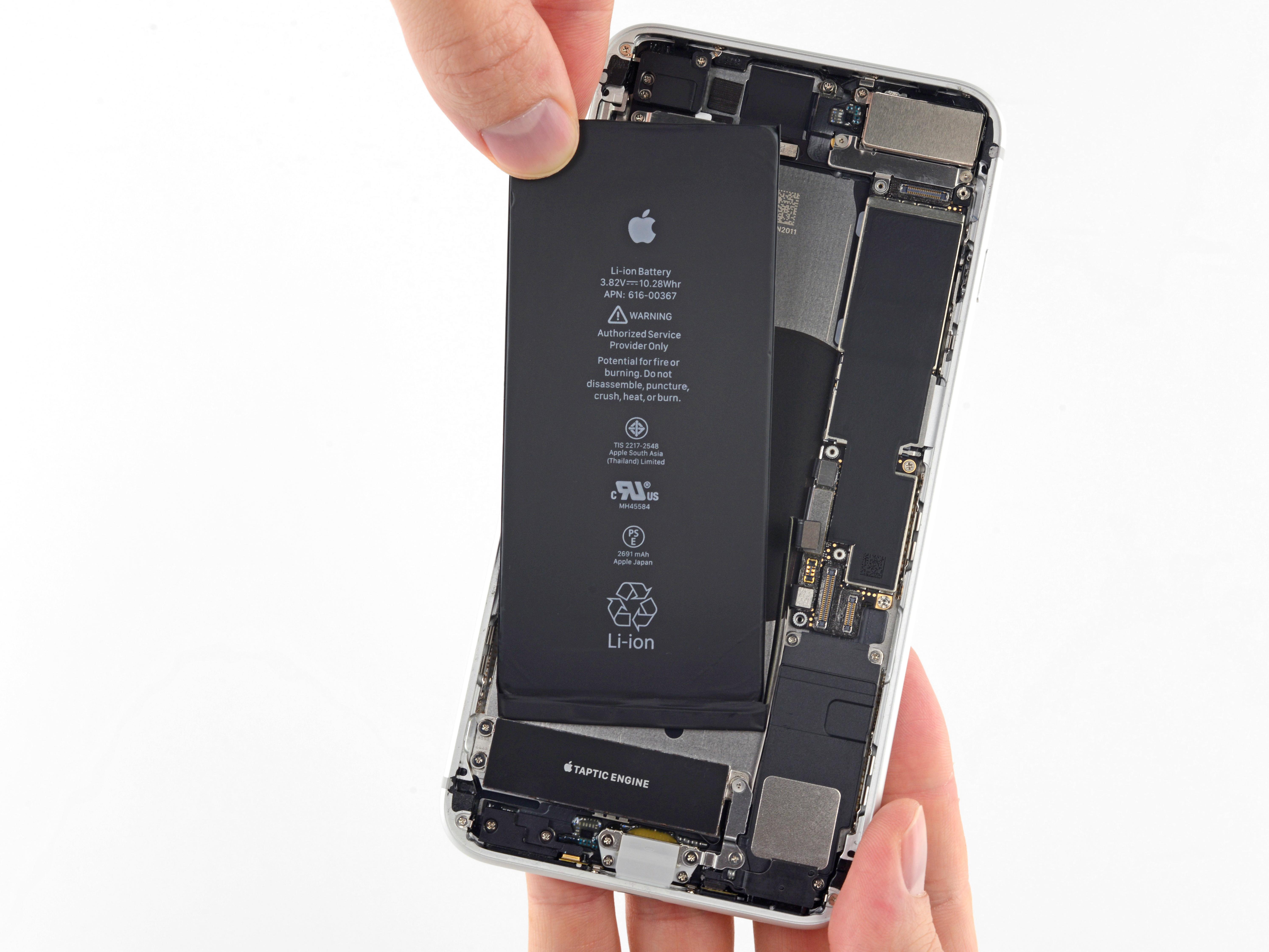הגדול החלפת סוללה מקורית Apple iPhone 8 פלוס – Mobile Clinic GT-39